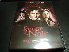 """COFFRET 2 DVD NEUF """"LE ROUGE ET LE NOIR"""" Gerard PHILIPE, Danielle DARRIEUX"""