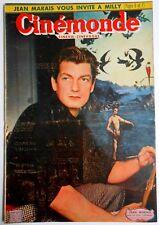 ►CINE MONDE 880/1951-JEAN MARAIS-LUIS MARIANO-EDITH PIAF-EDWIGE FEUILLERE...