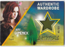 Cryptozoic Arrow 4 Costume Wardrobe Relic Card Amy Gumenick Cupid M23 46 / 99