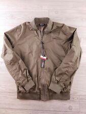 BUFFALO David Bitton women's olive green bomber zip jacket size medium NWT  O100