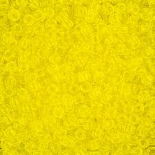 Toho Seed Beads Round Size 6/0 (4mm) Transparent Lemon 11.5g (L86/2)