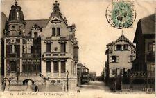 CPA Paris-Plage - La Rue d'Etaples (163858)