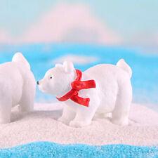 Resin Bear Animal Figurine DIY Miniature Fairy Garden Plant Pendant Decor Funny