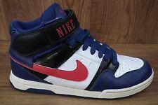 Nike Skateboarding Mogan Mid 2 Trainers | Blue White Red UK 5 EU38 - 407716-461