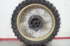 1981 Yamaha YZ250 YZ 250 IT465 IT490 YZ465 YZ490 rear wheel hub spokes