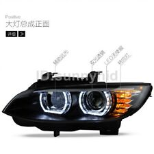 LED Angel Eyes lights for BMW M3 E92 E93 LED Headlights Lamps 2006-2012 year SN