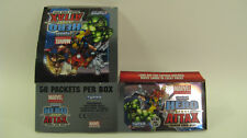 TOPPS - HERO ATTAX - Marvel Universe Box 2011 - Trading Cards Box -leer-