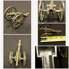 Vintage Brass And Cast Iron Japanese Cannon 1950's