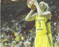 Sami Whitcomb Signed 8x10 Photo Seattle Storm Wnba Basketball Free Shipping