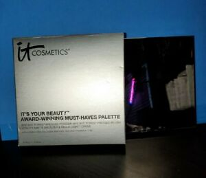 it Cosmetics  IT'S YOUR BEAUTY MUST-HAVES PALETTE.  SEALED in box
