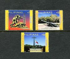 Philippines 3431-3433  MNH, 2012, 70th Year of Valor