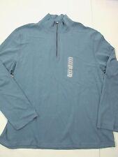 Calvin Klein CK  1/4 Zip CottonPullover Long Sleeve Golf Shirt NEW Men's XL HA