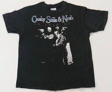 Crosby Stills & Nash 1984 CSN Tour Authentic Vintage Concert T-Shirt RARE