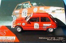 RENAULT R5 5 TS 1980 RALLY SHALIMAR CARLOS SAINZ LACALLE IXO 1/43 ALTAYA