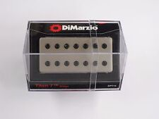 DiMarzio Titan 7 String Bridge Humbucker W/Satin Nickel Cover Black Poles DP 714