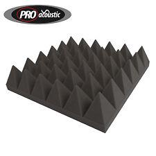 14x  AFP100 Large Pro Acoustic Foam Pyramid Tiles Studio Room Treatment