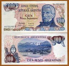 Argentina, 100 Pesos Argentinos, ND (1983 - 1985), Pick 315, UNC
