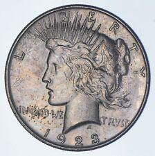 Early - 1923-D - Peace Silver Dollar - 90% US Coin *672