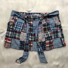 American Eagle Skirt Woman Size 2 Plaid Mini