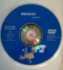 """DVD RENAULT for Navi """" NAVIGATION et COMMUNICATION """" / EUROPE V24 2004/2005"""