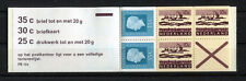 Países Bajos MH 13 pb 12a post frescos markenheftchen 1972 mnh