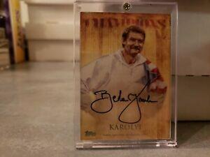 2012 Topps US Olympic Team AU OCA-BK Bela Karolyi authentic autographed card,