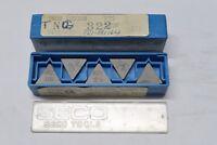10 pcs SECO TNG 322 grade S25M, TNGN 160308 P25 Carbide Indexable Inserts