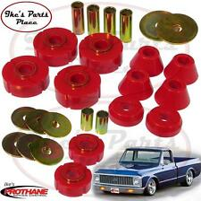 Prothane 7-101 Body Mount&Core Support Bushing Kit-12pc-67-72 Chevy C-10 Std Cab