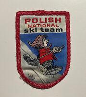 Polish National Ski Racing Team Vintage Skiing Jacket Ski Patch