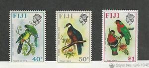 Fiji, Postage Stamp, #317-319 Mint NH, 1971 Birds