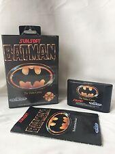 Batman-Sega Genesis/Mega Drive-PAL-Complet-Gratuit 1st Classe UK p&p