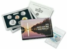2020 U.S. MINT SILVER PROOF SET - INCLUDES 2020-W REVERSE PROOF JEFFERSON NICKEL