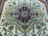9'x12' New Hand knotted wool Super Serapi Herizz Oriental traditional area rug