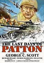 LAST DAYS OF PATTON - DVD - Region Free - Sealed