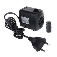 380GPH 800L/H Aquarium Submersible Air Water Pump Fish Tank Pond Fountain Hot