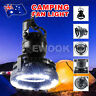 2in1 Portable LED Camping Fan Light Hanging Hook Combo Flashlight Lamp Torch