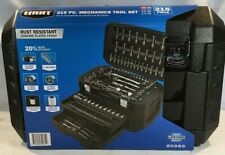 Hart Multiple Drive 215 Piece Mechanics Tool Set, Chrome Finish, New!