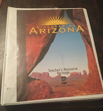Gibbs Smith Discovering Arizona Teacher's Resource Package 2003 USED 1586852973