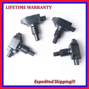 WYYYFA 4pcs Auto Ignition Coils,For Mazda RX-8 2004 2005 2006 2007 2008 2009 2010 2011 UF501 N3H118100 Car Accessories