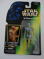 1997 Star Wars POTF 2-1B Medic Droid Medical Diagnostic Computer Action Figure