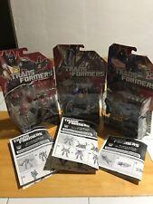 Hasbro Transformers Fall Of Cybertron Lot! Shockwave! Kickback! Starscream!