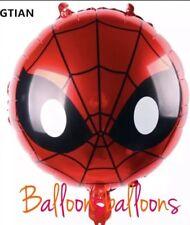 "20"" Spiderman Large Foil Helium Balloon Birthday Party Superhero Marvel"