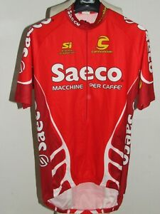 Bike Cycling Jersey Shirt Maillot Cyclism Team Saeco Cannondale Size S-XXL