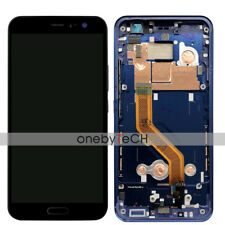 "5.5"" HTC U11 HTC U 11 LCD Display Touch Screen Assembly+Blue Frame Housing Part"