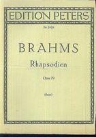 Brahms - Rhapsodien Opus 78 ( Sauer )