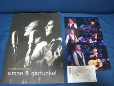 Simon and Garfunkel 2009 Japan Tour Book with Ticket Paul & Art Concert Program