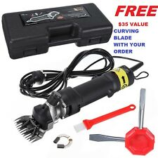 320W ELECTRIC SHEEP GOAT WOOL SHEARING SHEARS GROOMER CLIPPER ***220V  ***