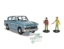 +++ Ford Anglia blau / weiss Harry Potter with Harry and Ron figures 1:43 +++