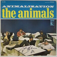 THE ANIMALS: Animalization US MGM SIGNED Autograph Eric Burdon Vinyl LP