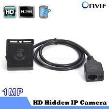 1MP HD 720P Hidden Pinhole Mini IP Camera P2P PC And Phone view ONVIF H.264 WIFI